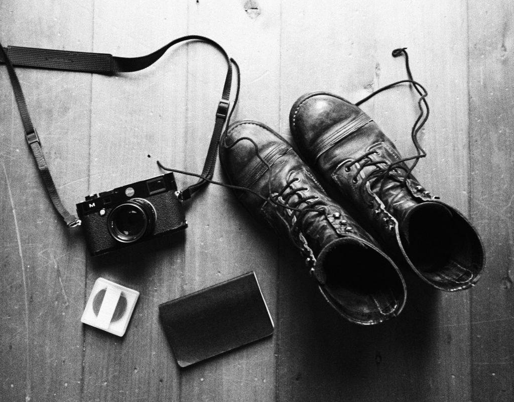 AB Watson's Leica M 240, notebook, and shoes. Why I only use one lens content image